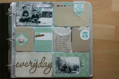 ** Chic Tags- delightful paper tags **: Project Life- week 1 & 2