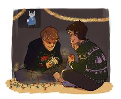 Destiel at Christmas