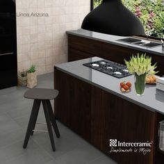 Una cocina elegante.