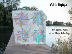 Whirligigs Quilt « Moda Bake Shop