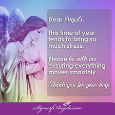Angels, the world around me is so busy and often chaotic. Please help me to stay centered and in a place of peace. Thank you.