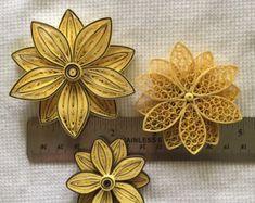 Flores de papel quilled