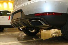 #Porsche #macan #porschemacn carbon fiber roof spoiler middle spoiler / diffuser / fuel cap cover / fog light cover / interior