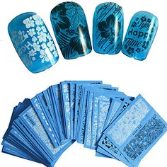 48sheets Flowers Lace Nail Art Water Transfer Decals Stic... https://www.amazon.com/dp/B06X6B18WQ/ref=cm_sw_r_pi_dp_x_P579yb8YSRGXZ