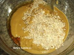 Betty's Cuisine: Μπισκότα με ταχίνι, βρώμη και μέλι Pudding, Desk, Desserts, Blog, Desktop, Deserts, Custard Pudding, Table Desk, Puddings