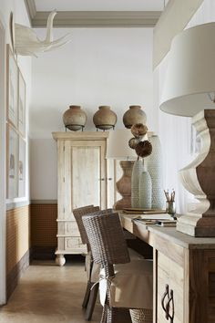 Estilo-Étnico-Madeira african interior, african home decor, global style, m African Interior, African Home Decor, Style At Home, Ethno Design, Home Living, Living Room, Hippie Stil, Casas Containers, Global Style