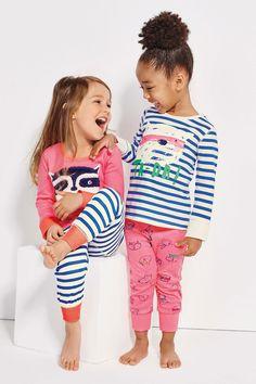Acheter Lot de deux Ta Dah Snuggle Pyjamas (12mths-8ans) à partir de la boutique en ligne Next Royaume-Uni