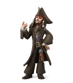 Captain Jack Sparrow (Pirates of the of the Caribbean)
