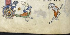 Psalter, Use of Sarum ('The Rutland Psalter') c. 1260. produced c. 1260 in England, possibly in London ms 62925 f056v detail british library..