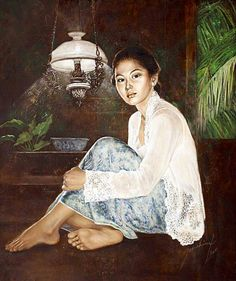 explore peranakan lady design peranakan and more portrait Bali Painting, Painting & Drawing, Geisha, Indonesian Art, Indonesian Women, Virtual Art, Light Of The World, Realism Art, Celebrity