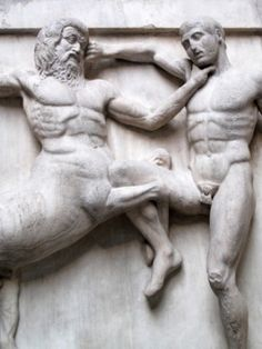 Elgin marbles fragment of the Parthenon. British Museum
