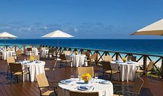 Bluewater Grill - Now Sapphire Riviera Cancun.  Photo copyright AMResorts.    www.blisshoneymoons.com
