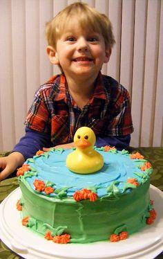 Super easy Spring or little birthday cake!
