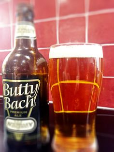 Butty Bach Premium Ale from Wye Valley Brewery.