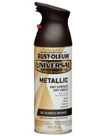 RustOleum Universal Metallic Spray Paint in Oil Rubbed Bronze