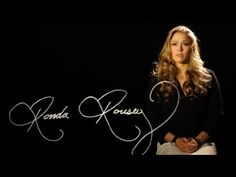 Ronda Rousey - I Am a Fighter