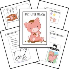 Are you learning about farms or animals? Homeschool share has a FREE Pig Lapbook and Unit Study! Use it to learn or add it to your curre