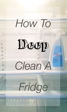 Tips for deep cleaning a fridge, fridge cleaning Household Cleaning Tips, Diy Cleaning Products, Cleaning Solutions, Deep Cleaning, Spring Cleaning, Cleaning Hacks, Fridge Cleaning, Cleaners Homemade, Diy Cleaners