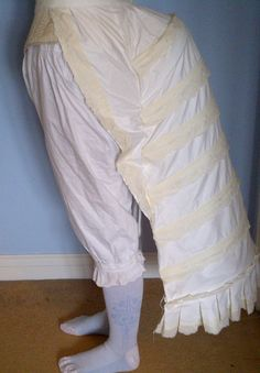 Making a Victorian cage bustle & bustle pad