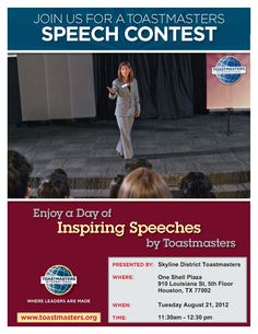 Sch Contest Flyer Uhcl Toastmasters