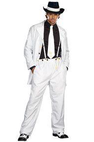 White Zoot Suit