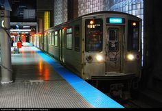 Net Photo: CTA 2321 Chicago Transit Authority Budd 2200 Series at Chicago, Illinois by Kevin The Krazy 1 America And Canada, North America, Chicago Transit Authority, Underground Tube, Chicago Pictures, Third Rail, U Bahn, Reference Images, Chicago Illinois