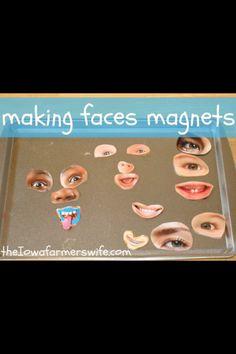 Magnet faces