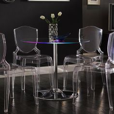 Spyra LED Light-up Bar Table   Overstock.com Shopping - The Best Deals on Bar Tables