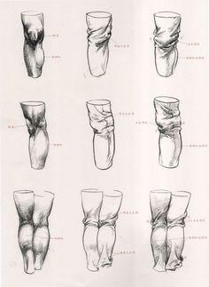 教你怎样用衣纹去表现人体结构 - 动漫教...