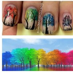 Tree Nails, think this is going to be next on my nails