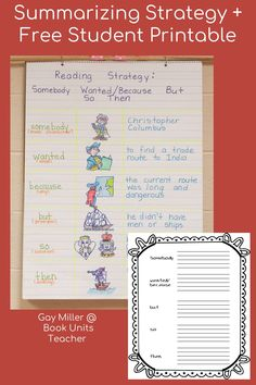 Check out these ideas for teaching summarizing including free printables. Great for upper elementary and middle school students.