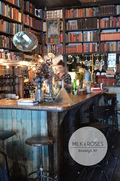 After a walk across the bridge a mid-morning stop in at Milk and Roses in #Greenpoint will be just the thing to revive the spirits!
