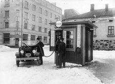 Hietalahdentori, Helsinki Al Capone, Gas Station, Helsinki, Landline Phone, Finland, History, Prehistory, Italia, Historia