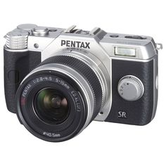 Pentax Q10 12.4 Megapixel Mirrorless Camera - 5 mm - 15 mm -