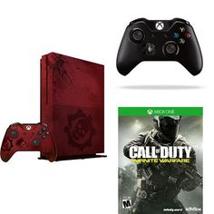 Xbox One S 2TB Console  Gears of War 4 Limited Edition Bundle  Call of Duty  Controller >>> Learn more by visiting the image link.Note:It is affiliate link to Amazon.