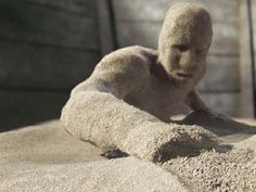 Sandman is a scary game kids play at sleepovers. You tell someone a story about having their body filled with sand and they feel much heavier. This game is also known as Sandbags. #dsgt #paranormal #spooky