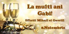 8.Noiembrie Sfintii Mihail si Gavriil La multi ani, Gabi!