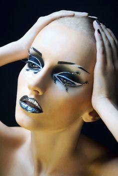Model: Tatiana Glotova Make-up by Irina Nikitina Photography by Anastasiya Sofronova