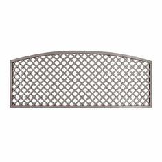 Diagonal Convex Top Trellis Panel | Essex UK | The Garden Trellis Company