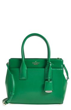 kate spade new york 'lucca drive - small candace' leather satchel available at #Nordstrom