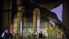 Carmen. Metropolitan Opera. Scenic design by Rob Howell. 2009