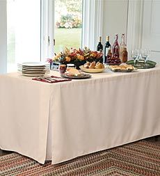 Tablevogue™ Fitted Polyester Table Covers