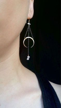 Hey, I found this really awesome Etsy listing at https://www.etsy.com/listing/400434445/moon-drop-earrings-boho-crescents