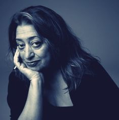 Zaha Hadid is an Iraqi-British Architect (1950-). She is the first woman to win the Pritzker Prize for Architecture in its 26 year history. Zaha Hadid has defined a radically new approach to architecture by creating buildings with multiple perspective points and fragmented geometry to evoke the chaos of modern life. Hadid shatters both the classically formal, rule bound modernism and the old rules of space - walls, ceilings, front and back, right angles.