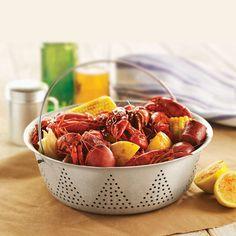 It's Crawfish season! Easy Texas Crawfish Boil recipe and guide Heb Recipes, Cajun Recipes, Seafood Recipes, Great Recipes, Favorite Recipes, Healthy Recipes, Paleo Meals, Healthy Foods, Recipies