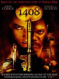 Add this to a movie night gift box! 1408 DVD Stephen King Horror Movie John Cusack Samuel L Jackson New Sealed Scary Ghost Movies, Scary Movies, Comedy Movies, Stephen Kings, Horror Movie Posters, Love Movie, I Movie, Best Horror Movies List, Terrifying Stories