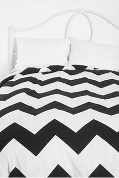 Zigzag Duvet Cover -- also comes in blue