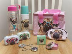 Kolekce #Pugs&Kisses s motivem #mopslíka. #pug #accessories #giftware