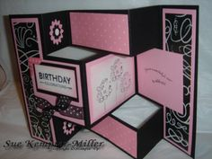 285 best greetings tri fold shutter cards images on pinterest in tri shutter card by suerkm cards and paper crafts at splitcoaststampers m4hsunfo