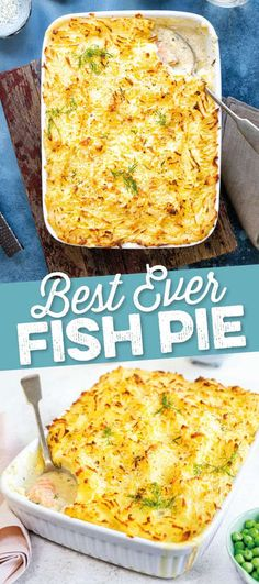 This luxurious fish pie is a true crowd pleaser Check out my step by step guide and video tutorial for the best fish pie recipe Supergolden Bakes Best Fish Pie Recipe, Best Fish Recipes, White Fish Recipes, Healthy Recipes, Fish Pie Healthy, Recipes Using Fish, Salmon Fish Recipe, Salmon Pie, Salmon Recipes